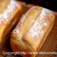 Easy home made bread, with a secret ingredient